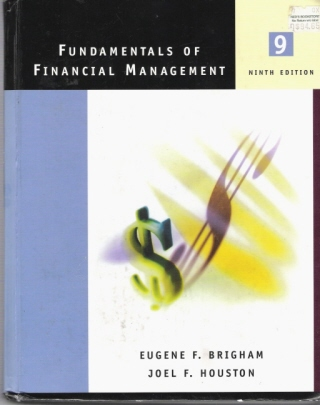 picture of used book fundamentals of financial management, for sale at technobookstore.com